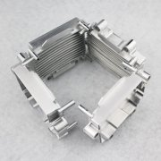Cnc Machinery Heatsink Black Anodized Aluminum Alloy Motorcy