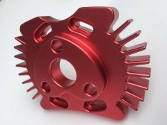 Professional custom cnc machining aluminum parts anodizing c