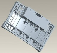 industry using cnc machining / milling rapid prototype service for black ABS PP plastic cover