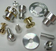 CNC Turning Machined Aluminum Spare parts, Central Machinery Lathe Parts for Washing Machine