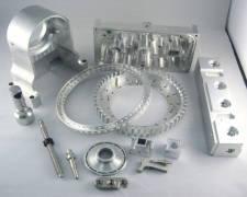 Hot Sale Latest metal aluminium cnc spare parts machine