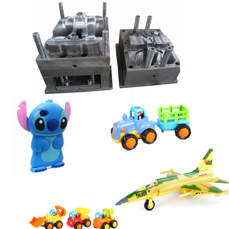 Custom ABS PP PE Plastic Injection Molded Products and Parts Mold Making Supplier for Plastic Toy