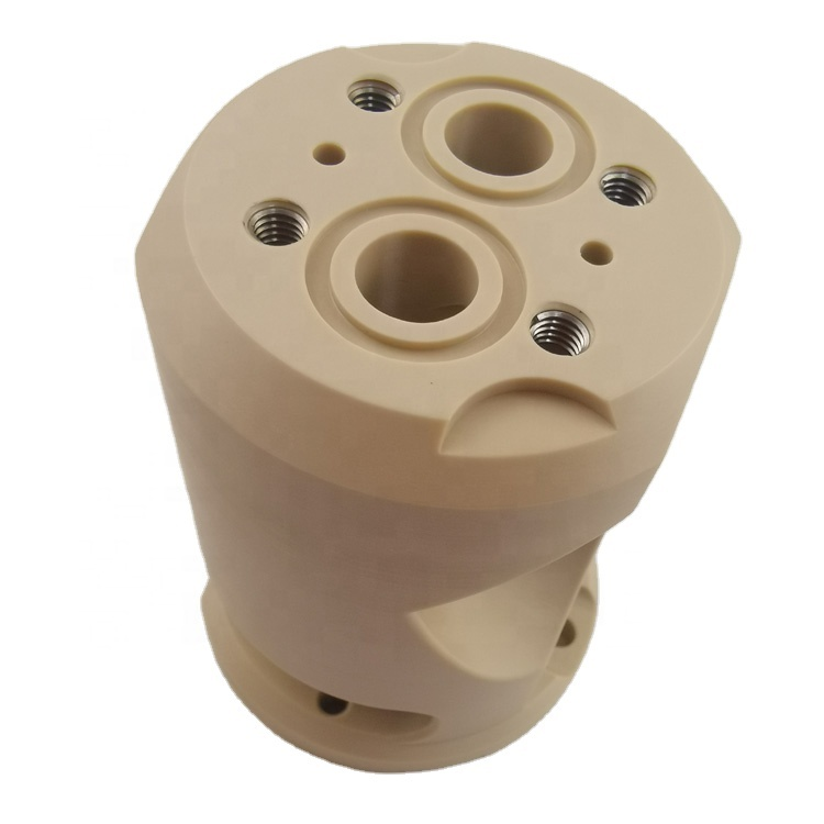Custom CNC plastic parts,CNC machining PEEK parts POM,PEI,PA+GF,CNC rapid prototype